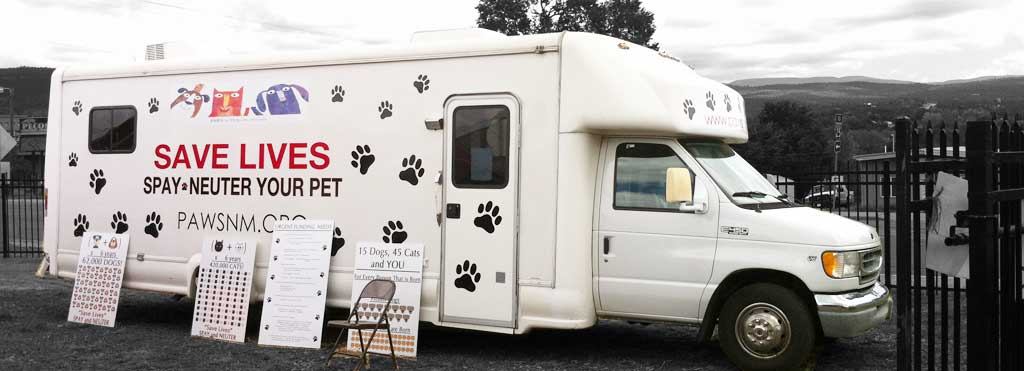 New PAWs Van